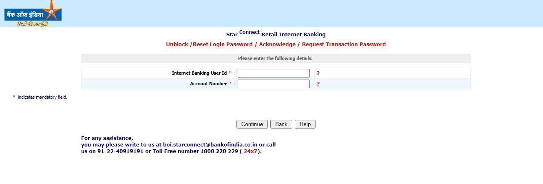 BOI reset password 1