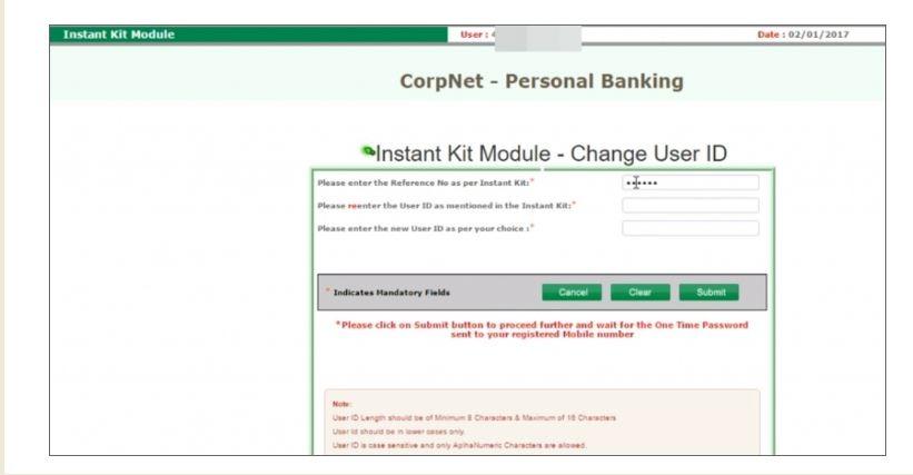 Corporation Instant kit