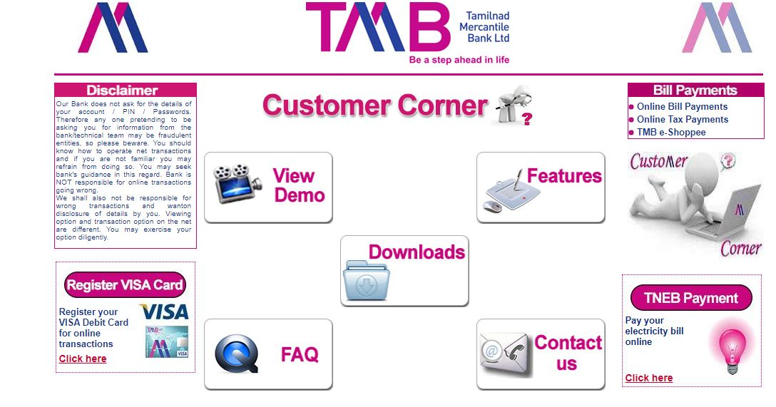 tmb customer care