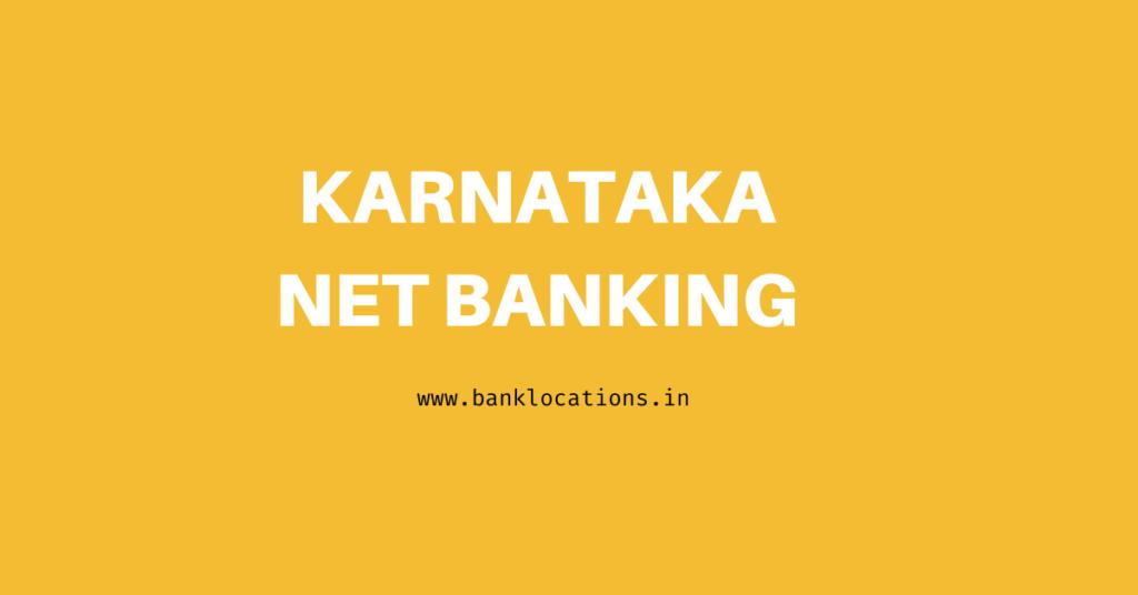 Best Karnataka Bank Net Banking | Neft Timings, Charges Details 2021